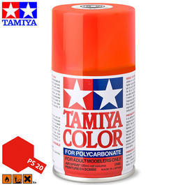 Tamiya PS-20 Neon rot Lexan Spraydose 100ml