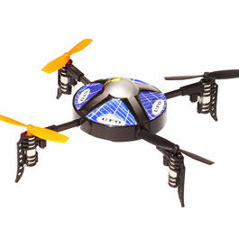 Quadcopter Monstertronic Starwalker im Ufo Design blau 4-Kanal Steuerung Ready to Fly