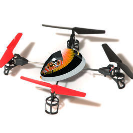 Monstertronic RC UFO Starrunner schwarz 4-Kanal Steuerung Ready to Fly