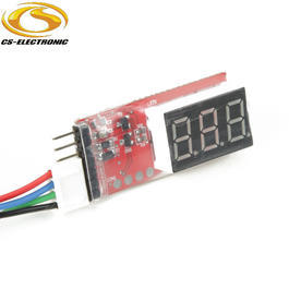 CS-Electronic LiPo Spannungsmonitor 2S bis 6S