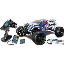 Carson 1:10 X10ET Rock Warrior BL Water Pro 4WD Truggy 2,4 GHz RTR Set
