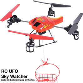 DF-Models Funktionseinheit Seilwinde f�r RC Quadrocopter UFO Sky Watcher