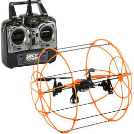 RC Quadrocopter R800 Aerocraft orange 4-Kanal 2,4 GHz RTF