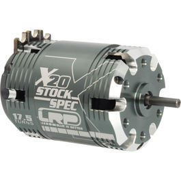 LRP Vector X20 Brushless StockSpec Motor 17.5 Turns