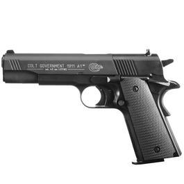 Colt Government 1911 A1 CO2 Luftpistole 4,5 mm Diabolo schwarz brüniert