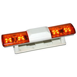 HRC 1:10 LED Dach-Blaulicht US-Style Light Kit orange / orange