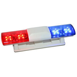 HRC 1:10 LED Dach-Blaulicht US-Style Light Kit rot / blau