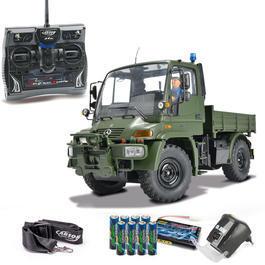 Military Shop - Carson 1:12 MB Unimog U300 Military 2,4 GHz 100% RTR Set