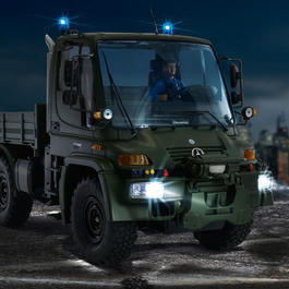 Carson 1:12 MB Unimog U300 Military 2,4 GHz 100% RTR Set