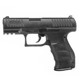 Umarex Walther - WaltherPPQ CO2 Luftpistole 4,5mm (.177) Diabolo schwarz
