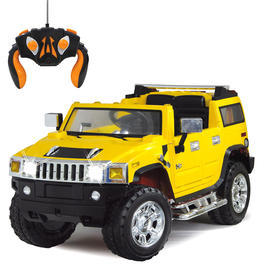 jamara rc hummer ride on kinderfahrzeug 1 4 gelb. Black Bedroom Furniture Sets. Home Design Ideas