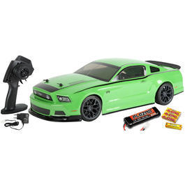 HPI 1:10 E10 Ford Mustang 2014 RTR 4WD 2,4 GHz 100% RTR Set