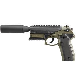 Gamo CO2 - Gamo Luftpistole Tac 82X SD CO2 4,5mm Diabolo oliv mit Pistolenkoffer