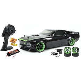 HPI 1:10 Sprint 2 Sport Ford Mustang 1969 RTR-X Wasserdicht 4WD 2,4 GHz 100% RTR Set