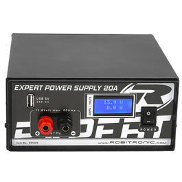 Robitronic Netzteil Expert Power Supply 13,8 Volt / 20 Ampere R01020