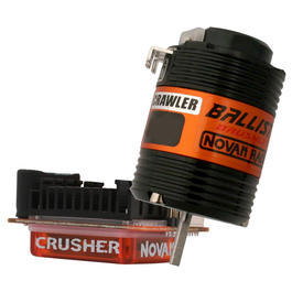 Novak Brushless Regler Crusher + Ballistic Crawler BL-Motor 21,5 Turns 3259