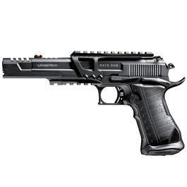 Blowback - Umarex Race Gun CO2-Pistole4,5 mm BBschwarz Vollmetall Blowback