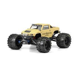 Military Shop - Pro-Line 1:10 Lexan Karosserie Desert Militia f. Traxxas Monster Trucks 3401-00