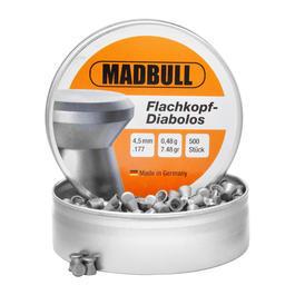 Madbull - Madbull Diabolos 4,5mm Flachkopf, glatt, 500 Stück