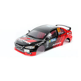 Killerbody 1:10 Polycarb. Karosserie Mitsubishi Lancer Evo X RTU all-in 190mm