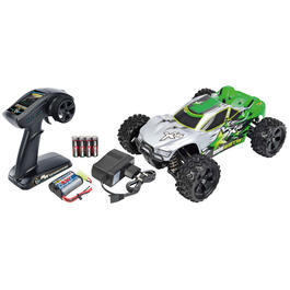 Carson 1:16 X-16 Mini Warrior Brushed 4WD Truggy 2,4 GHz 100% RTR Set 500404065