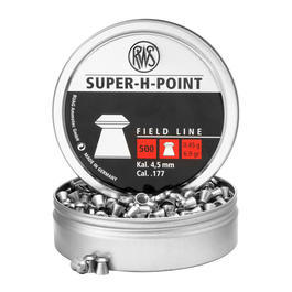 RWS Super-H-Point Diabolo 4,5mm Field Line 0,45g