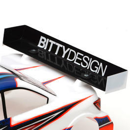Bittydesign Charge Heckflügel 190mm Version - High Downforce BDRW190-CHA
