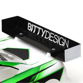Bittydesign Ultra Charge Heckflügel 190mm Version - High Downforce BDRW190-UCHA