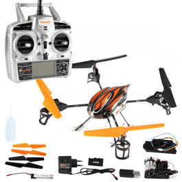 Drive & Fly UFO Skywatcher 2 Quadrocopter 4-Kanal 2,4 GHz RTF Set 9150