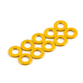 Team Durango Distanzh�lsen 6x3x0.75mm (10 St�ck) gold TD709068
