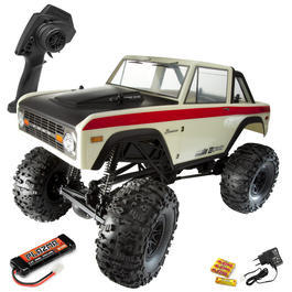 HPI 1:10 Crawler King 1973 Ford Bronco 4WD 2,4 GHz 100% RTR Set 113225