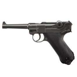 Umarex Waffen - Legends P08CO2 Pistole Kal. 4,5mm Stahl BB brüniert Vollmetall