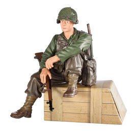 Torro Figur US Private 1th Class sitzend 1:16