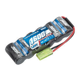LRP Akku 7.2V 1600mAh NiMH XTEC Race Pack Side-by-Side 430606