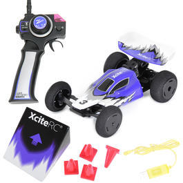XciteRC 1:32 High Speed RaceBuggy 2WD 2,4 GHz RTR Set blau 30803000