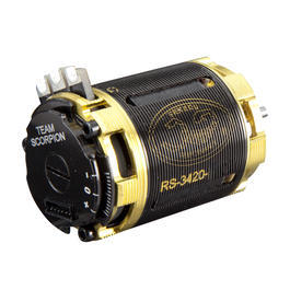 Scorpion RS-3420 Brushless Modified Motor 7.5 Turns SP-RS3420-07T5