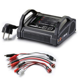 Absima Charger CB-1S LiPo / LiFe / NiMH Ladeger�t 230V 4000001