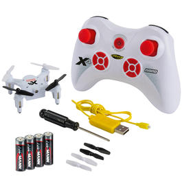 Carson RC X4 Nano Quadrocopter 4-Kanal 2,4 GHz 100% RTF Set weiss 500507079