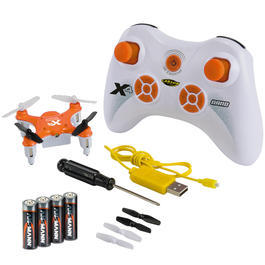 Carson RC X4 Nano Quadrocopter 4-Kanal 2,4 GHz 100% RTF Set orange 500507081
