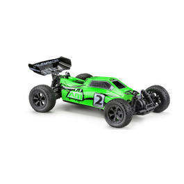Absima 1:10 Hot Shot AB1 4WD Brushed Buggy 2,4 GHz RTR neongrün 12201