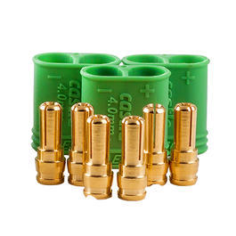 Castle Creations 4mm Polarized Connector Goldstecker Set (3 Sets) CSE011007500
