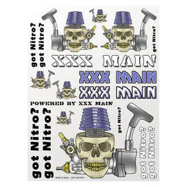 XXX Main Got Nitro? Sticker Aufkleberbogen S001