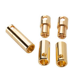 Castle Creations CC 5,5mm Goldkontakt Bullet Connectors Set (3 Paar) CSECCBUL553