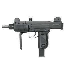 Freizeit Luftdruckwaffen - Swiss Arms CO2 Maschinenpistole Protector schwarz Kal. 4,5mm BB