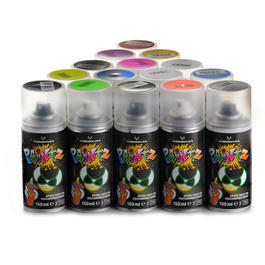 Absima Paintz Lexan Spraydose 150ml Metallic Silber 3500033