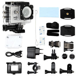 Pichler Pro Sports Cam Full HD 1080 WiFi Edition Komplettset weiss C8058