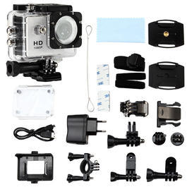 Pichler Pro Sports Cam Full HD 1080 Komplettset weiss C8057