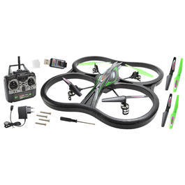 Outdoorshop - Jamara Observer AHP Quadrocopter 4+3-Kanal 2,4 GHz RTF Set + Kamera 038551