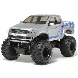 Tamiya 1:10 WT-01 Volkswagen Amarok 2WD Pick-Up Custom Lift Bausatz 58603