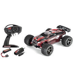 Traxxas 1:16 E-Revo Brushed 4WD Racing Truggy 2,4 GHz RTR Set TRX71054-1